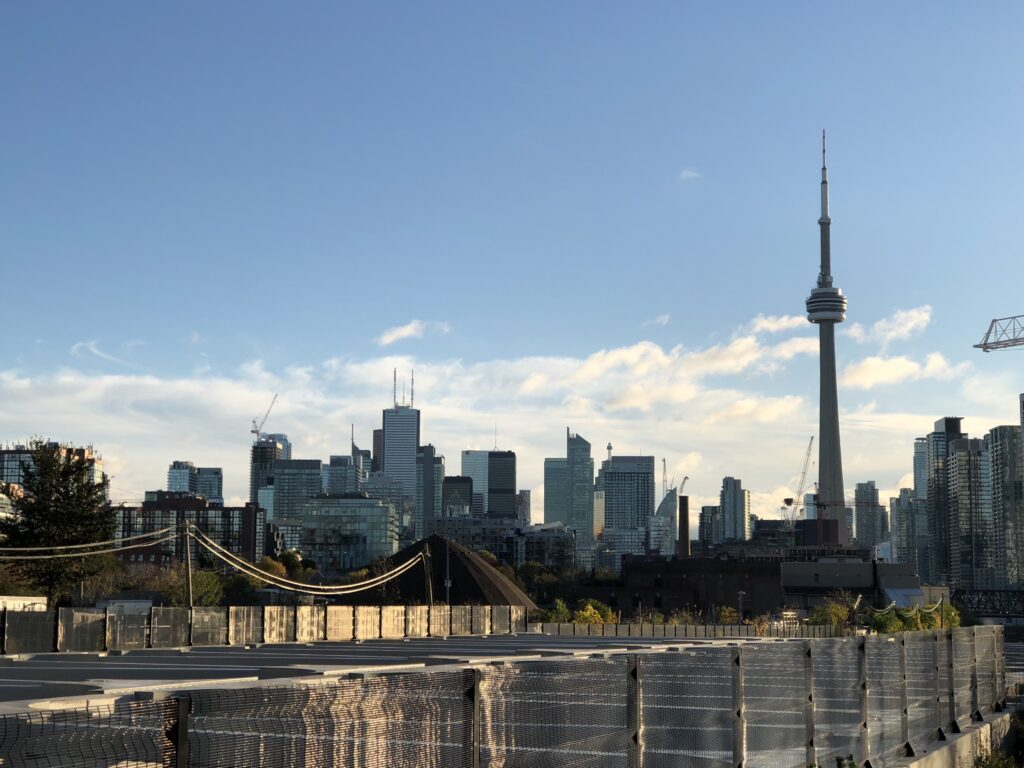Toronto skyline, from Liberty Village