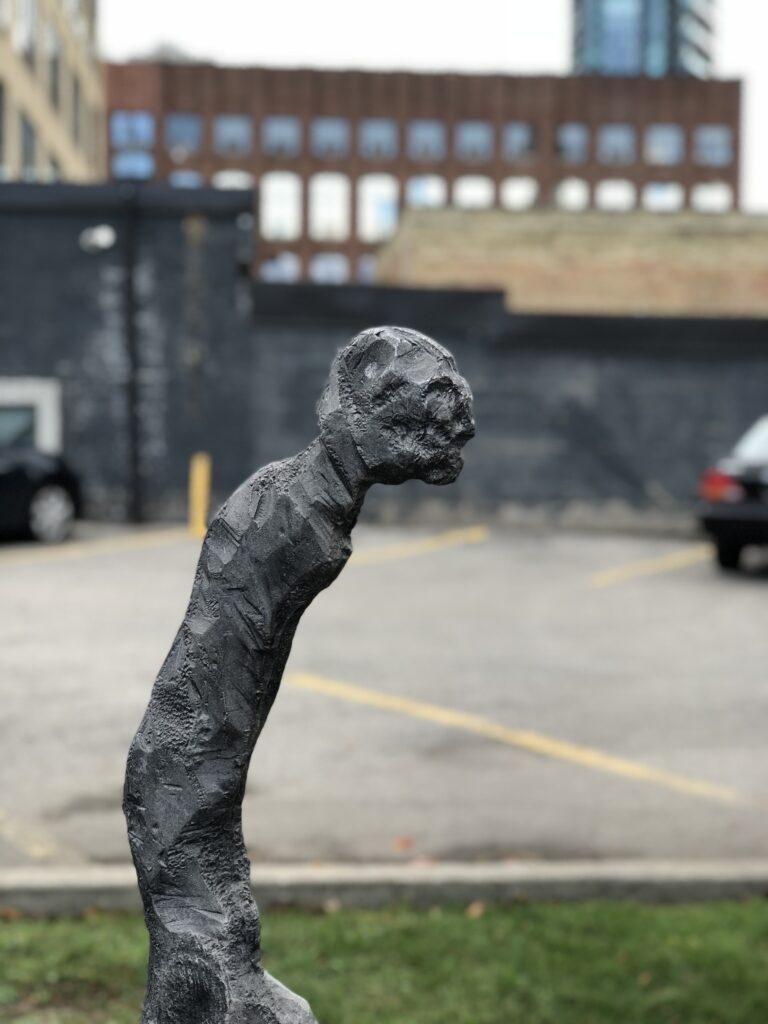Sculpture in Liberty Village