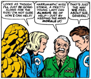 Sue Storm from Fantastic Four #12