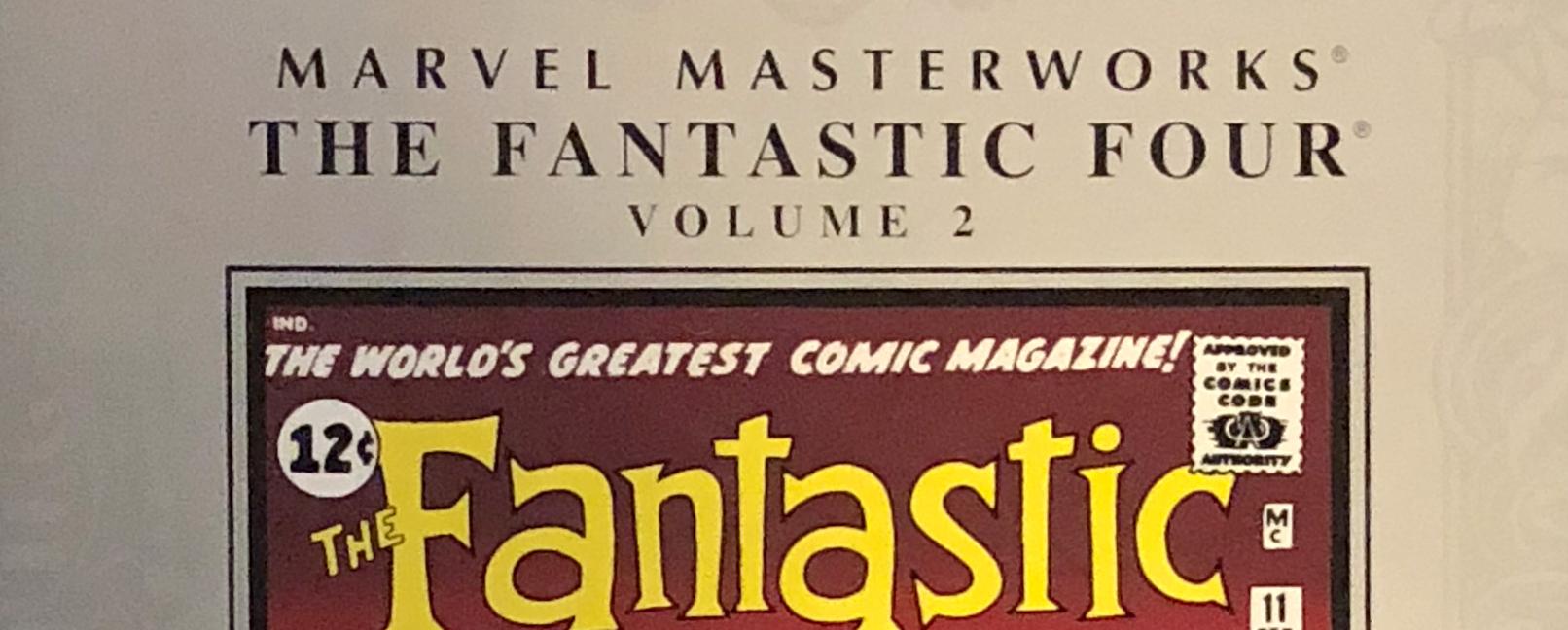 Marvel Masterworks Fantastic Four Volume 2